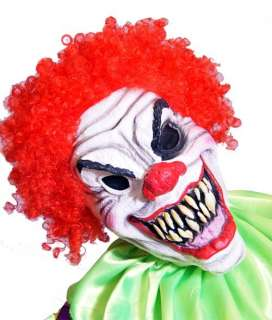HALLOWEEN IT EVIL CLOWN/HORROR CLOWN Deluxe Full overhead MASK 1