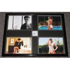 Emmanuelle Chriqui Signed Frame 18x24 Photo Collage Jsa   Sports