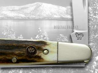 HEN & ROOSTER AND Deer Stag Barlow Pocket Knife Knives