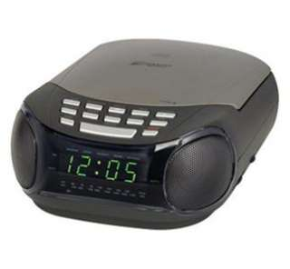 NEW* EMERSON DIGITAL ALARM CLOCK RADIO*WITH CD PLAYER*