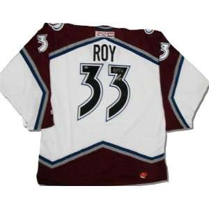 Signed Patrick Roy Uniform   HOF   Autographed NHL Jerseys