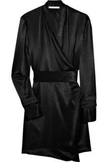 Clemens en August Satin kimono dress   88% Off Now at THE OUTNET