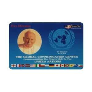 Collectible Phone Card 5m Pope John Paul II Visit To The