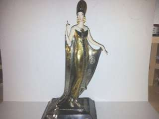 Restorers Lot 1* 4 Franklin Mint Figurines inc. House of Erte Isis