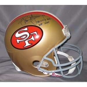 Steve Young Autographed/Hand Signed 49ers Full Size Helmet