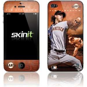 Tim Lincecum   San Francisco Giants skin for Apple iPhone