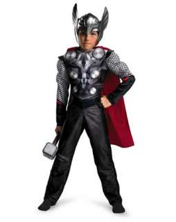 Boys Classic Muscle Thor Movie Costume  Boys TV and Movie Halloween