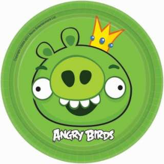 Angry Birds Dessert Plates (8 count)   Costumes, 81745