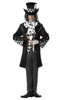 Dark Mad Hatter Adult Costume for Halloween   Pure Costumes