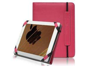 Fit Leather Case Cover for Apple iPad 2 / 2nd Generation   Hot Pink