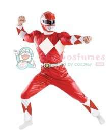 Buy Power Ranger Red Adult Costume For Halloween And Other Occasions
