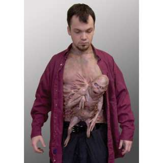 Adult Little Brother Chest Piece Costume   Scary Halloween Costumes
