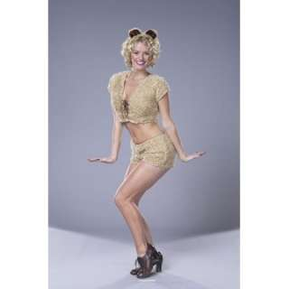 Adult Sexy Teddy Bear Costume   Sexy Teddy Halloween costume includes