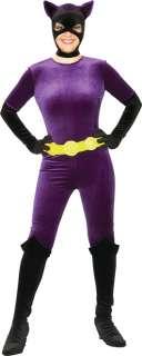 Adult Catwoman Velvet Costume   Catwoman Costumes   15RU88103