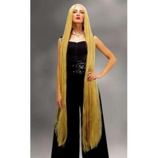 Adult 60 Blonde Straight Wig   Fairytale Costume Wigs   15MR176005
