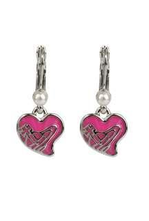 Heart Pearl Earrings by Vivienne Westwood Accessories   Metallic   Buy