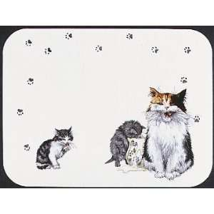 TUFTOP Cutting Board TT00272 Cats Whiskers   Medium (12