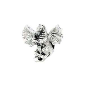Authentic Biagi Flying Dragon Bead Charm   .925 Sterling