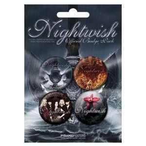 Nightwish pack 4 badges Dark Passion Play Toys & Games