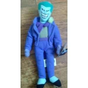 Batman   Animtaed Joker Plush Bean Bag From 1996 Toys & Games