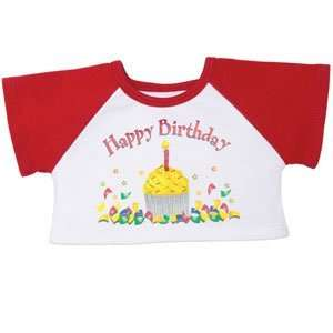 Build A Bear Workshop Red Happy Birthday Tee Toys & Games