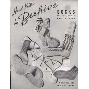 Beehive SOCKS for Men, Women and Children Book No. 127, 1944 Beehive