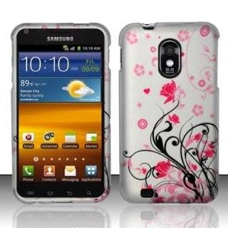 4G D710 Galaxy S2 Blue Vine Hard Case Cover Cell Phones & Accessories