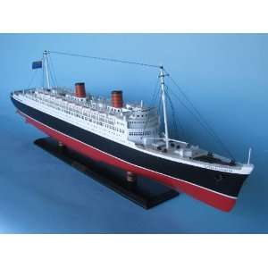 Model Cruise Ship Replica Scale Model Boat Nautical Home Beach Wall