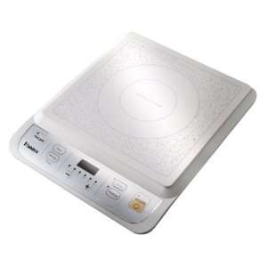 functional Induction Cooktop Countertop Burner, White (Ceramic Top