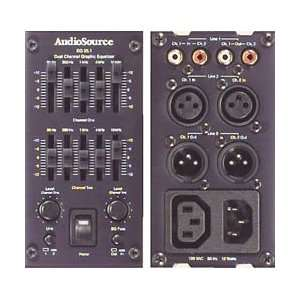 AUDIO SOURCE EQ 25.1 5 Band Graphic Equalizer Electronics