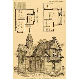 Heglan  Access Victorian carriage barn plansVictorian Carriage House Plans