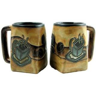Mara Ceramic Stoneware 12 Oz. Coffee Mug (Set of 2):