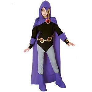 Teen Titans Raven Child Costume  Small  Toys & Games