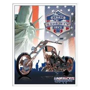 Tin Sign American Chopper Motorcycle #1295 Everything
