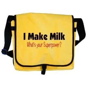 milk pink Cute Messenger Bag by