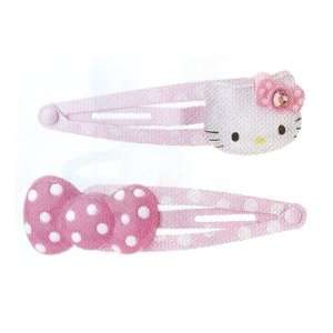 Sanrio Hello Kitty Design a Pair of Pink Color Hair Pins Toys & Games