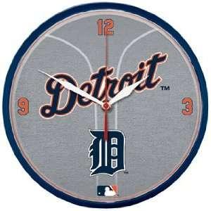 MLB Detroit Tigers Team Logo Wall Clock