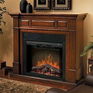 Dimplex Newport Electric Fireplace Mantel Package   SEP BW