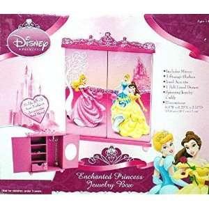 Disney Princess Enchanted Jewelry Box