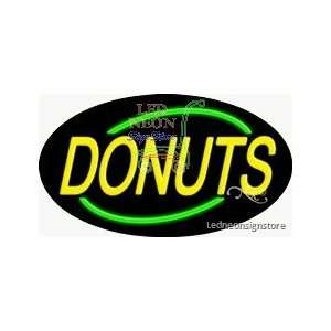 Donuts Neon Sign Office Products