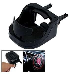 Black Hard Plastic Car Auto Drink Cup Stand Holder Automotive