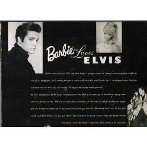 Barbie & Elvis Together Toys & Games