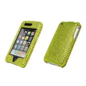 EMPIRE Yellow Bling Diamond Snap On Cover Hard Case Cell Phone
