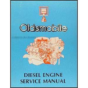 7L Diesel Engine Original Repair Shop Manual Oldsmobile Books