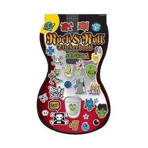 Eureka Die Cut Stickerbook Rock and Roll Learning