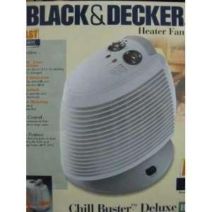 Black & Decker Heater Fan (Chill Buster Deluxe