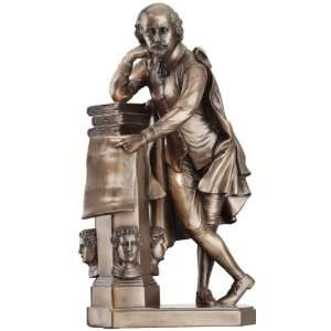 Shakespeare Collectible Book Sculpture Statue Figurine Home & Kitchen