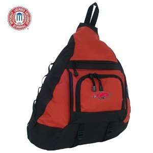 Mercury Luggage Arkansas Razorbacks Red Sling Bag