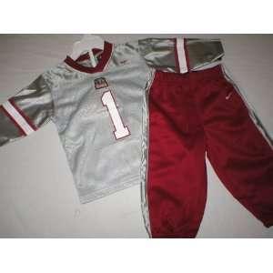 Alabama Crimson Tide Infant Football Jersey and Pants Uniform
