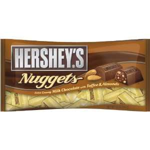HERSHEYS Nuggets Extra Creamy Milk Chocolate With Toffee & Almonds